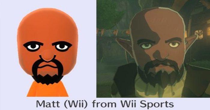 Les PNJ de Zelda : Breath of the Wild seraient en réalité des Mii