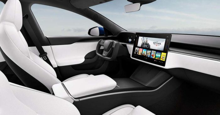Tesla dévoile la Model S redessinée avec un nouvel intérieur futuriste