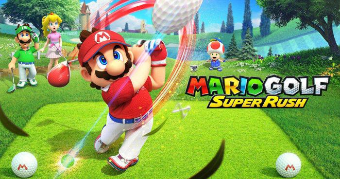 Mario Golf Super Rush arrive sur Nintendo Switch cet été