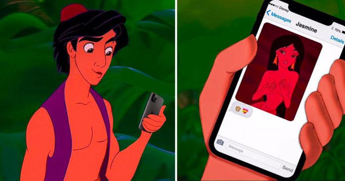 La vie de ces 15 personnages de Disney serait très différente s'ils vivaient en 2021