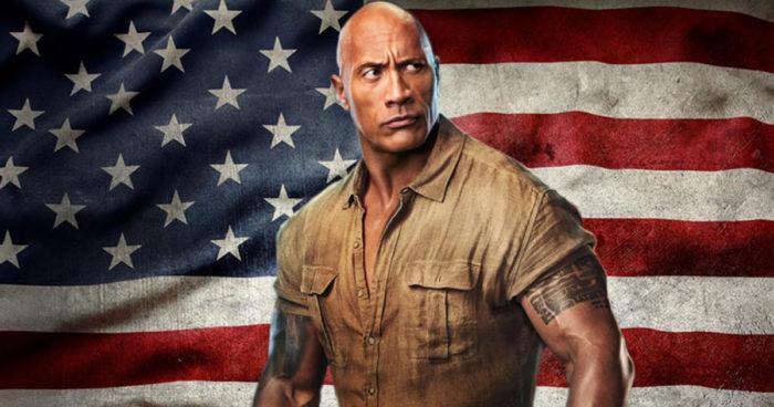 The Rock dit qu'il envisage de se présenter à la présidence américaine