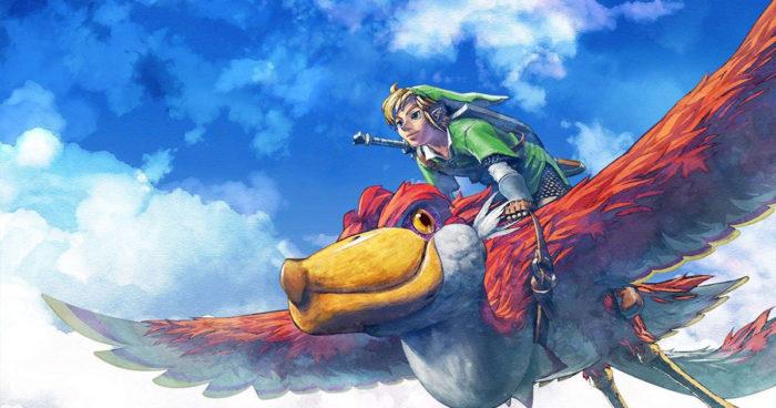 The Legend Of Zelda: Skyward Sword en HD arrive sur Nintendo Switch