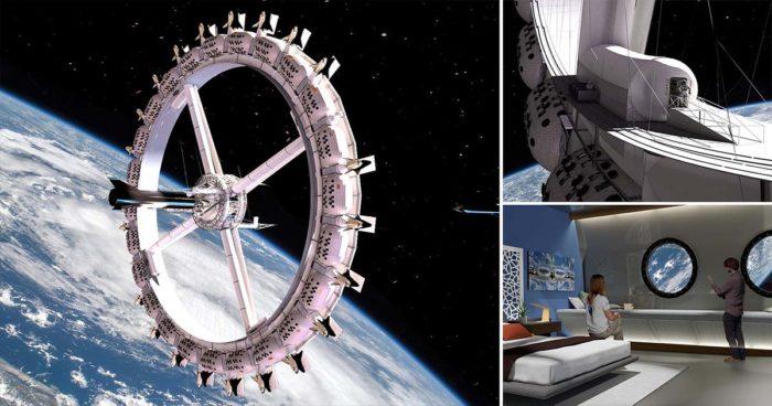 Le premier hôtel spatial au monde avec des bars et un cinéma prévoit ouvrir pour 2027