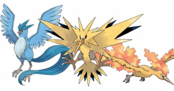 Un professeur découvre de nouveaux coléoptères et les nomme d'après les trois oiseaux légendaires de Pokémon