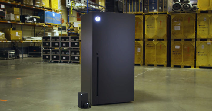 Xbox promet de fabriquer des mini-réfrigérateurs Xbox Series X