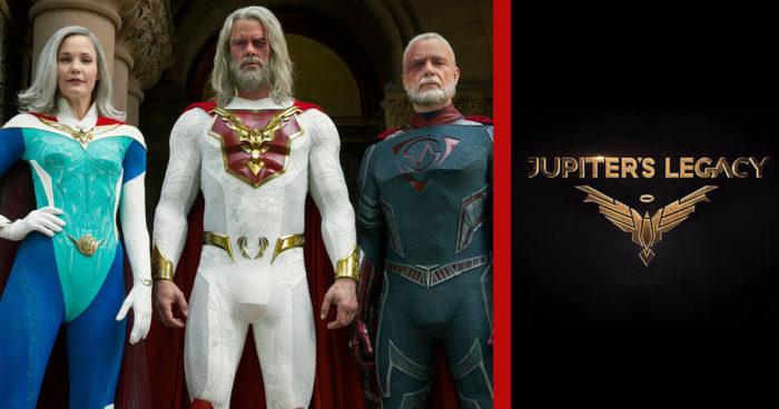 Jupiter's Legacy :Une première bande-annonce pour la série de super-héros de Netflix