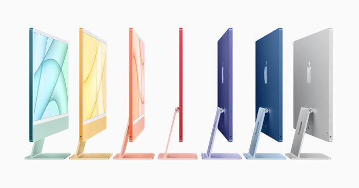 Apple lance un nouvel iMac ulta-mince et de toutes les couleurs