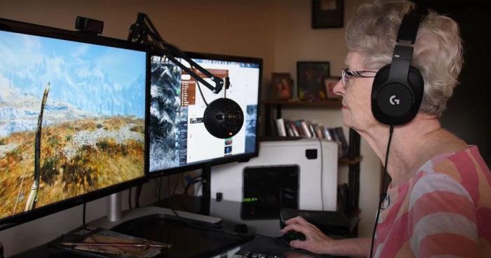 Selon une étude, de plus en plus de personnes âgées deviennent des gamers