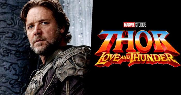 Russell Crowe va jouer un dieu que vous connaissez très bien dans Thor: Love and Thunder