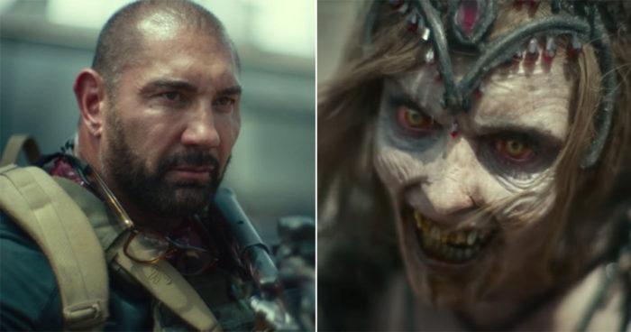 Un premier trailer pour le film Army of the Dead de Zack Snyder avec Dave Bautista