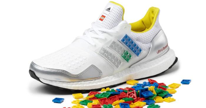 Adidas et LEGO imaginent une paire de souliers personnalisable