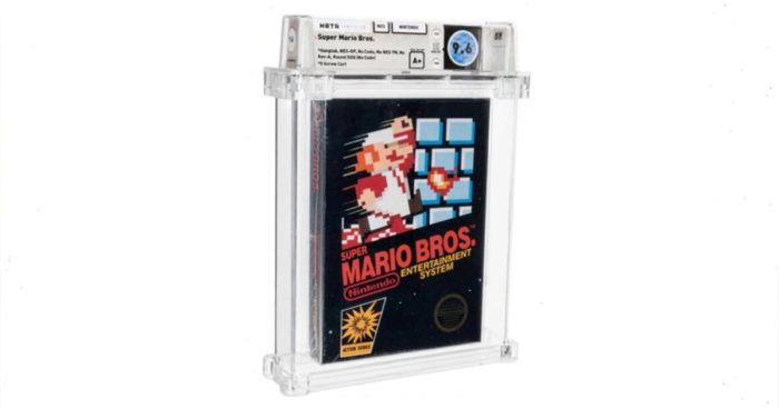 Quelqu'un a payé 660 000$ USD pour un jeu Super Mario Bros en parfaite condition