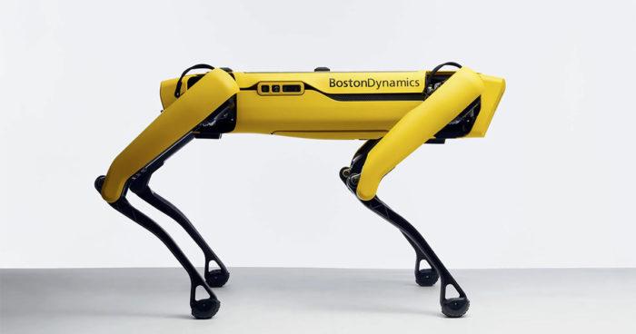 Le chien robot de Boston Dynamic peut désormais uriner de la bière