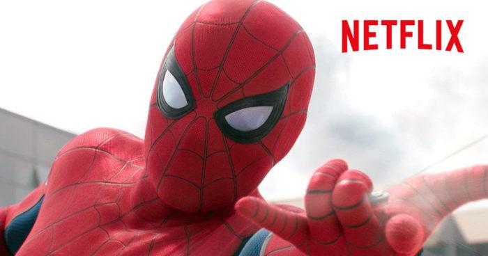 Netflix a acheté le droit de diffuser les films de Sony comme Spider-Man