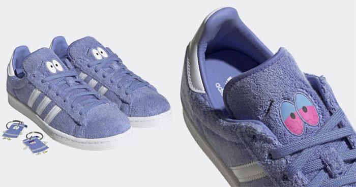 Adidas présente des souliers Towelie pour célébrer le 4/20