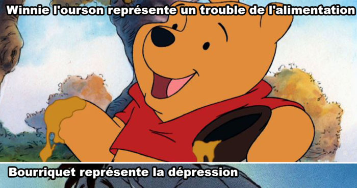 Théories: Les personnages de Winnie-the-Pooh représentent tous des troubles mentaux
