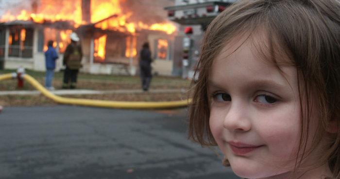 L'image du meme Disaster Girl s'est vendu 614 500 $ en NFT