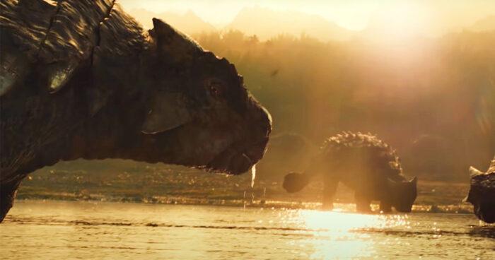 Les premières images de Jurassic World 3 montrent l'origine des dinosaures