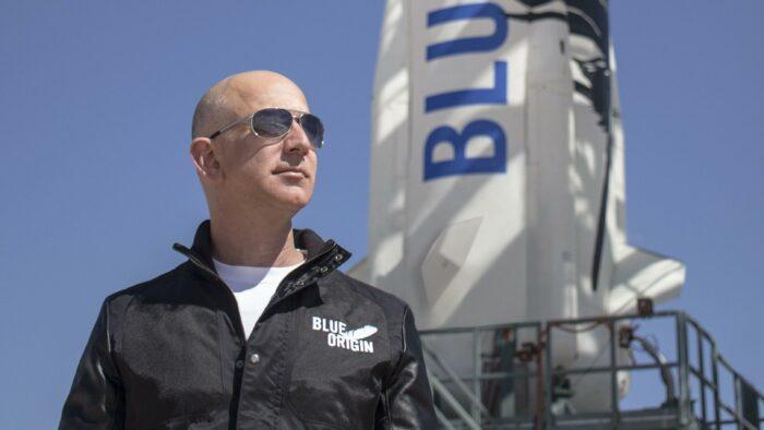Jeff Bezos, le fondateur d'Amazon va s'envoler dans l'espace dans l'une de ses fusées