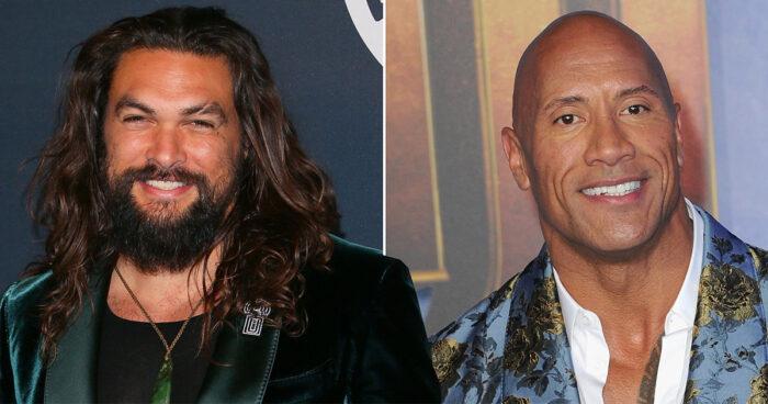 Jason Momoa veut faire équipe avec The Rock pour un nouveau film