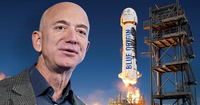 Une pétition veut empêcher Jeff Bezos de revenir sur Terre après son voyage dans l'espace