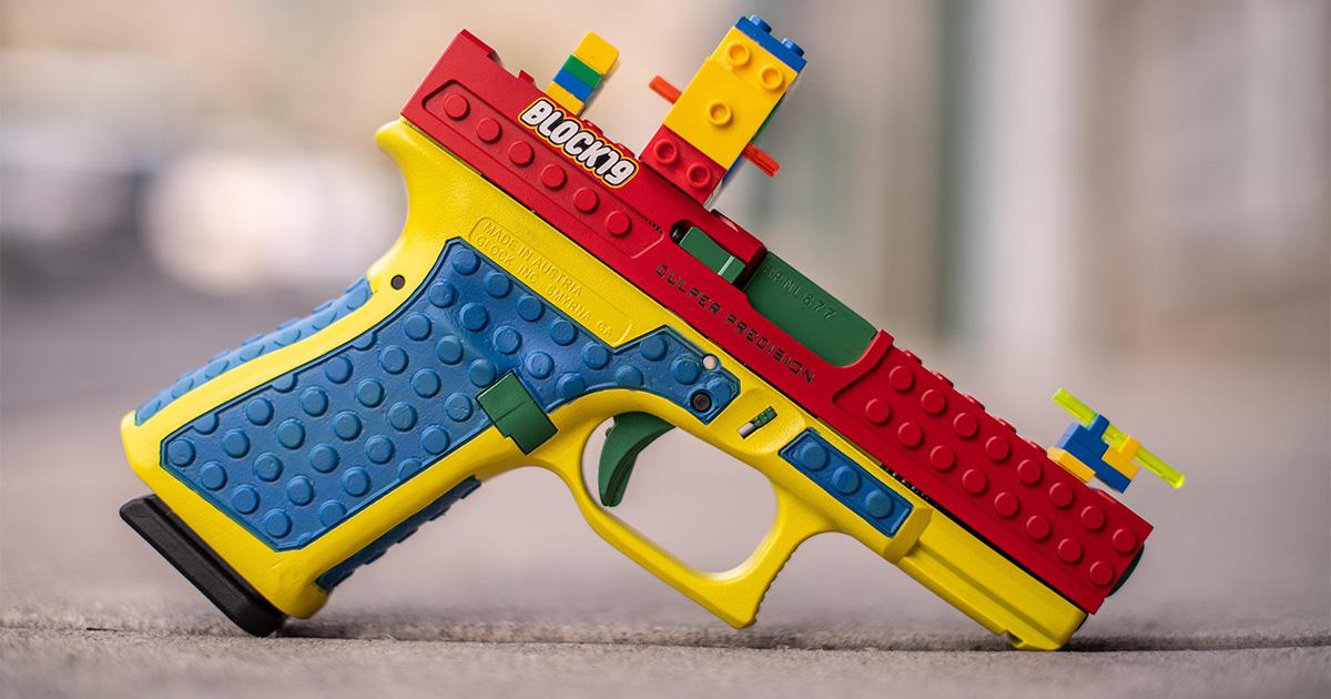 Pistolet Légo U6yh65